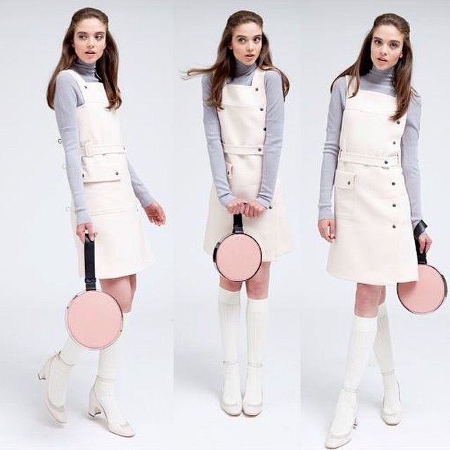 persephoni pink circle bag at moda operandi trunkshow