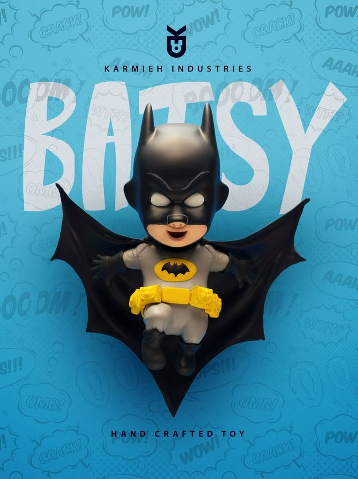 Batsy Adam West is a handcrafted resin toy $199