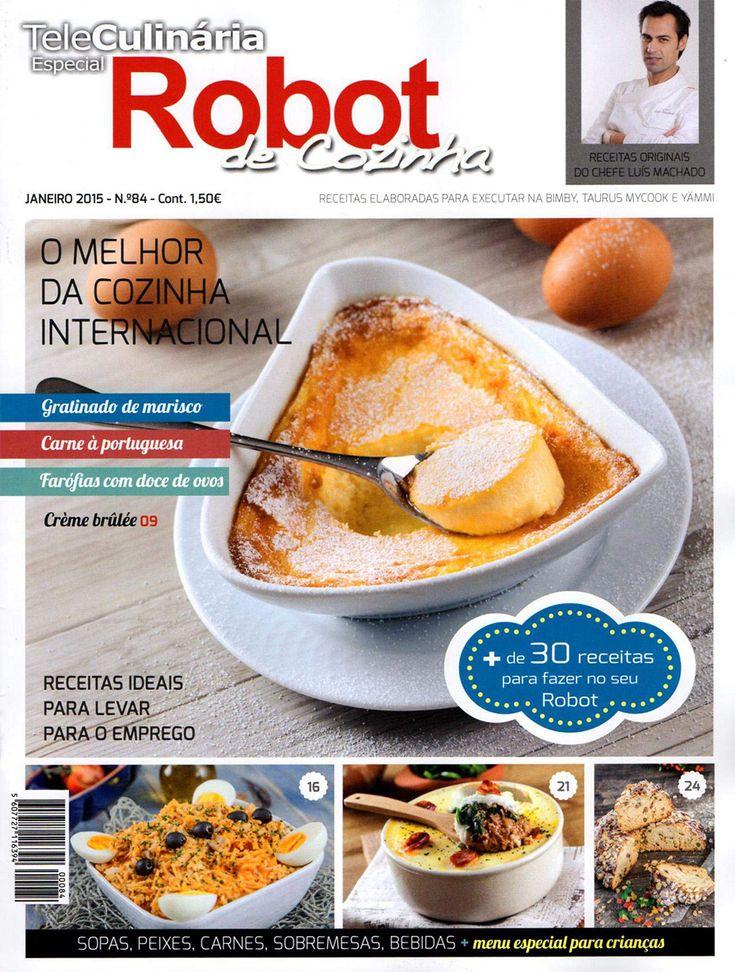 TeleCulinária Robot de Cozinha Nº 84 – Janeiro 2015
