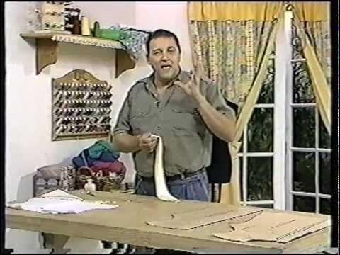 Puntos y Puntadas 68. Camisa de hombre - 4. Moldería. Hermenegildo Zampar. - YouTube