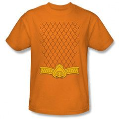 Aquaman New 52 Costume Mens T-Shirt $23.99 (includes free U.S. shipping)