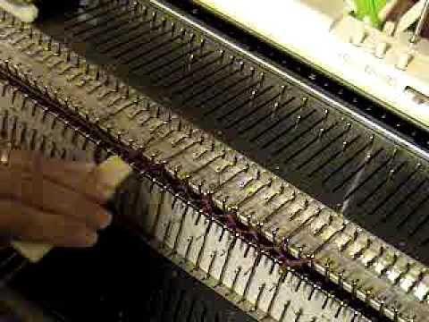 Ribber Lesson 17 Ribber Decreases - YouTube