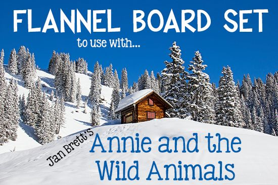 Annie and the Wild Animals: Printable Flannel Board Cards