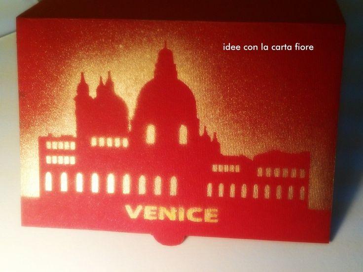 Biglietto Popup, 3D, Venezia di Idee con la carta su DaWanda.com