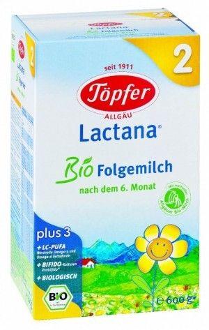 TOPFER bio mleko dla niemowląt  6m LACTANA 600g