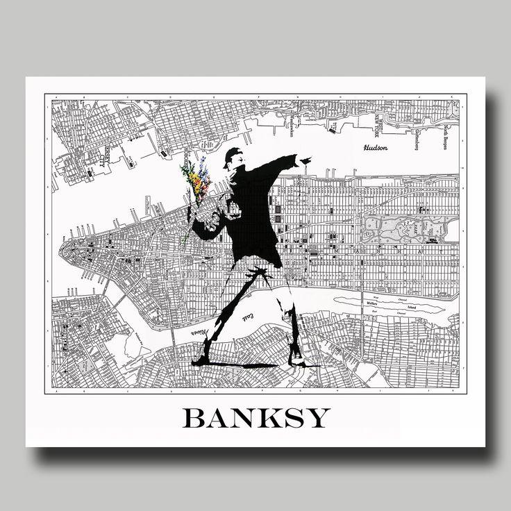Pin on banksy maps