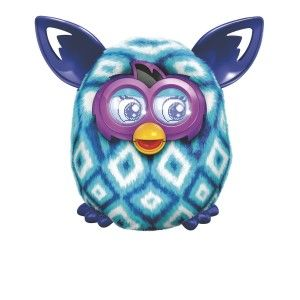 Furby Boom Blue Diamonds Plush Toy The more you talk to your Furby and interact with it, the more English it speaks. http://bit.ly/19Kzx2w