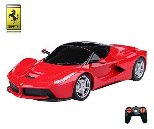 Ferrari+LaFerrari+Remote+Control+Car+–+1:24+Scale+Ferrari+Model+–+PL613+Official+Ferrari+F150+Electric+RC+Remote+Control+Cars+–+RTR,+EP+–+(Red)+40Mhz