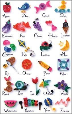 A-Z Collection Quilling Kit 422 by shannonagill