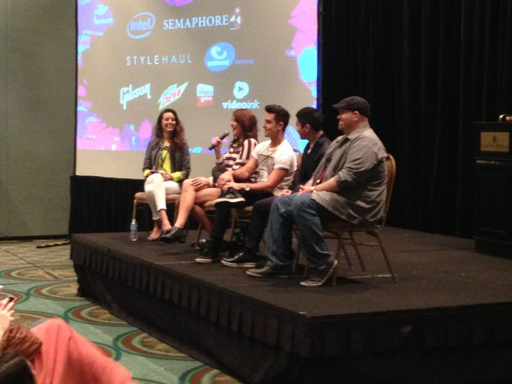 It's a #digitalvideo getdown with Jun Harada of Conde Nast + Grace Helbig+ Sawyer Hartman and more! #playlistlive #YouTube #online #video #Orlando #YouTube