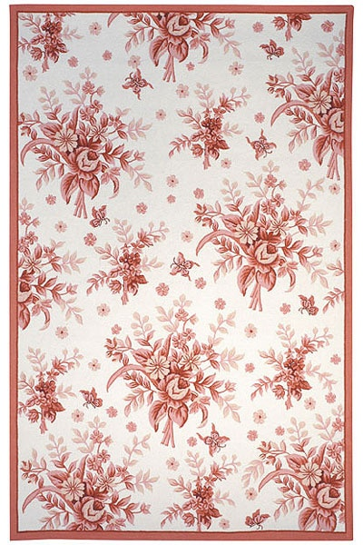 Pink Toile Rug Smart Offers Area Rugs For Any Room In Your