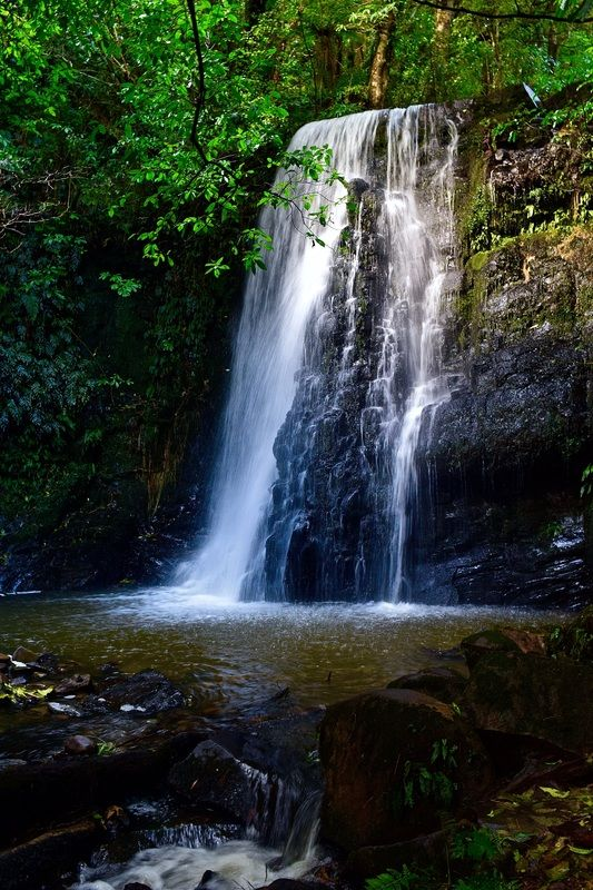 Matai Falls in the Catlins, New Zealand