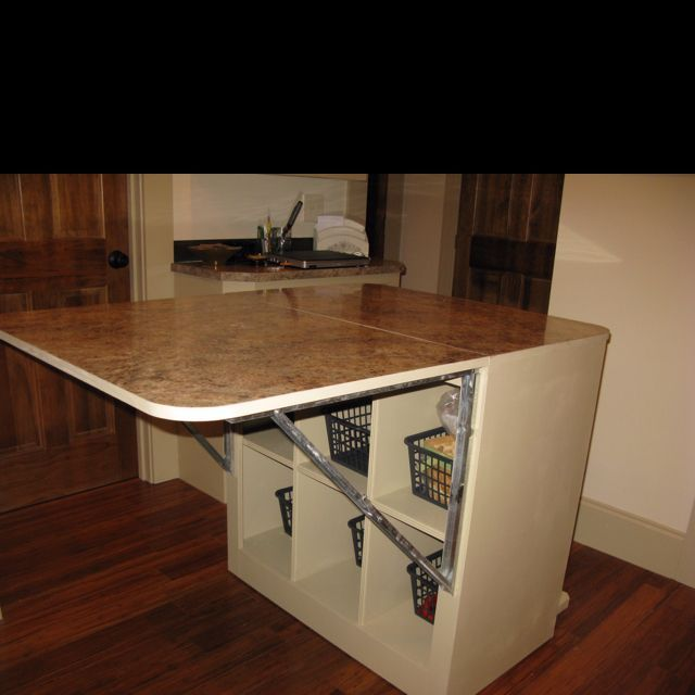Best 25 sewing cutting tables ideas on pinterest for Fold up craft table