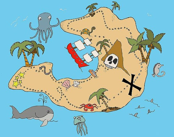 20 best Treasure maps images on Pinterest | Pirate ...