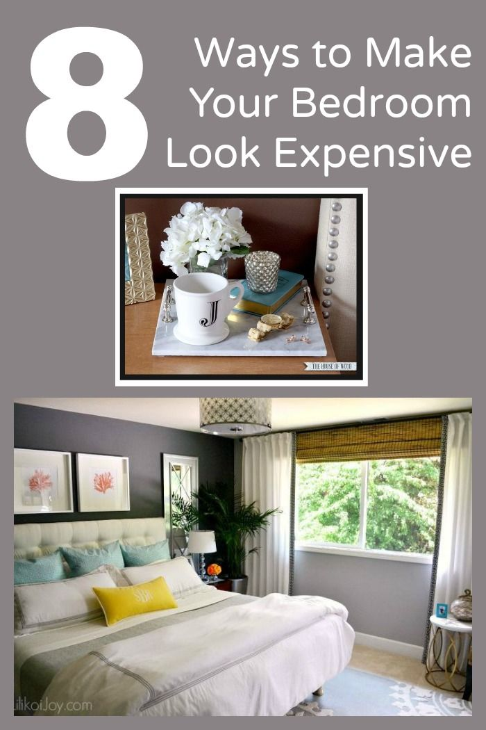 ways to make your bedroom look expensive new decor ideas