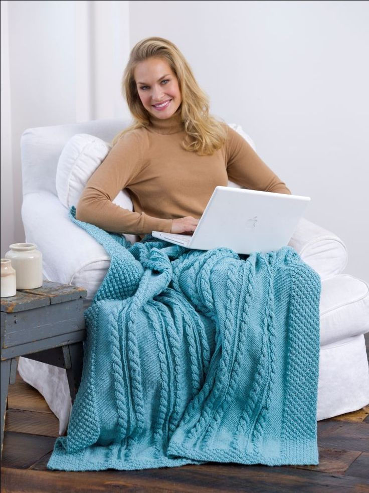 Marcel Afghan Knitting Pattern : Best 20+ Knitted afghans ideas on Pinterest Knitted ...