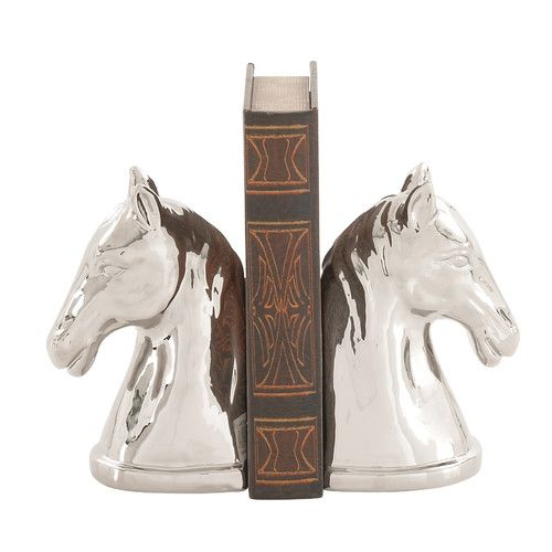 Found it at Joss & Main - Horse Head Bookends