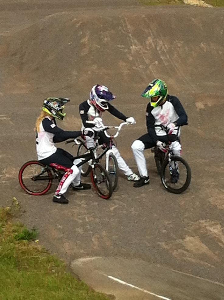 The US BMX Olympic Team @Cyclopark