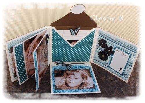 "CartoScrap - Le Blog - Mini-album ""Enveloppes"""