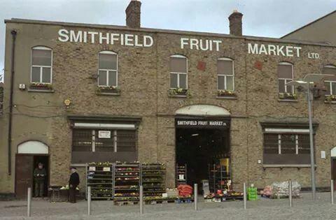 Smithfield Fruit Market, Dublin, Ireland.