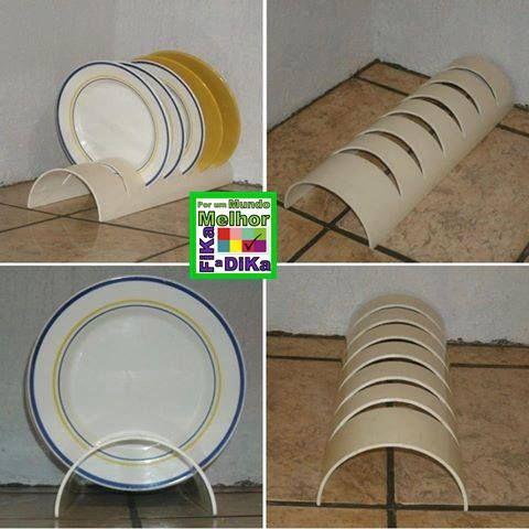 Ideas para el hogar: Escurridor de platos en pvc