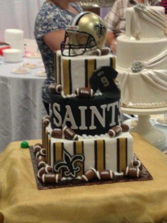 Saints Football Cake Ideas