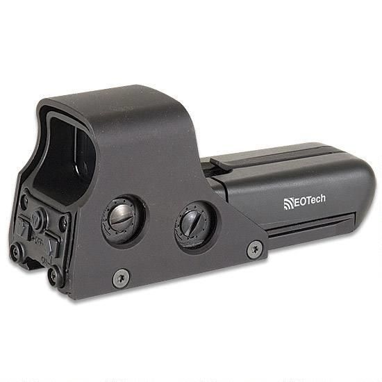 EOTech 512.A65 Holographic Red Dot Sight, Picatinny Mount Included, Takes AA Batteries, Black - 672294512653