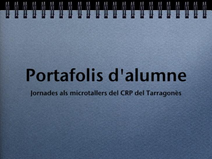 Portafolis de l'alumne