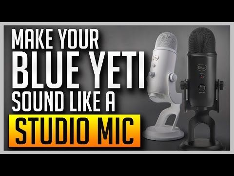 ✅ How to Make Your Blue Yeti Sound Like a Professional Studio Mic [BEST SETTINGS] - http://LIFEWAYSVILLAGE.COM/career-planning/%e2%9c%85-how-to-make-your-blue-yeti-sound-like-a-professional-studio-mic-best-settings/