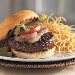 The Perfect Hamburger: This burger lives up to it's name. I've used this recipe for years and people always comment on the flavor. I usually add a little extra garlic and Worcestershire sauce but other than that I follow the recipe.