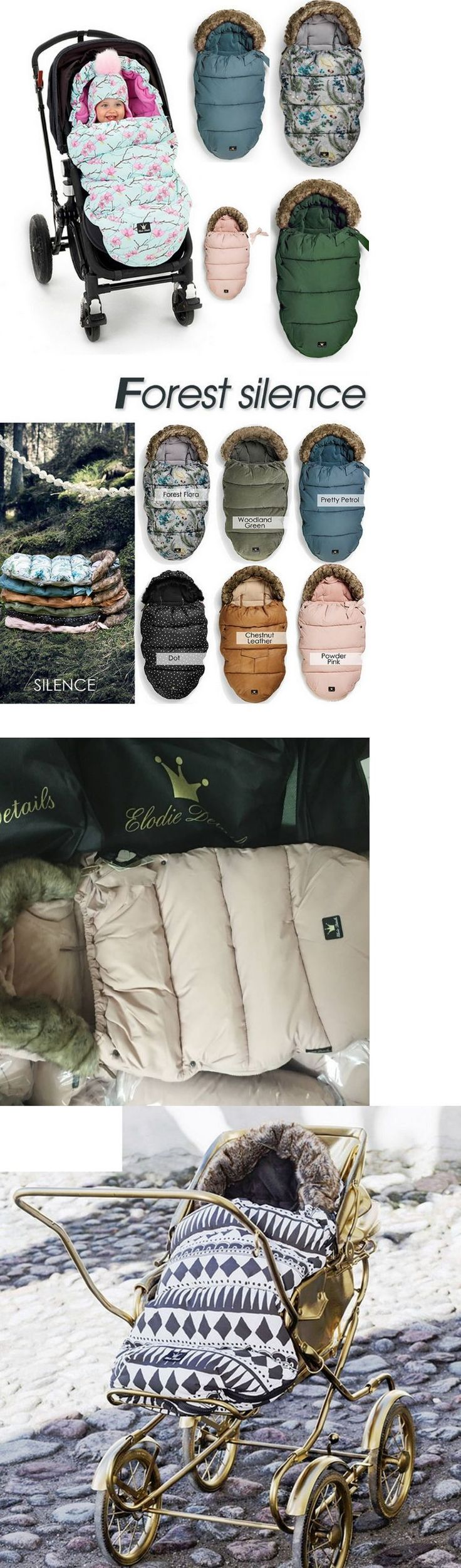 Footmuffs 116553: Elodie Details Baby Stroller Sleeping Bag Footmuff Warm Thickened Sleepsacks -> BUY IT NOW ONLY: $91.53 on eBay! #babysleepsack
