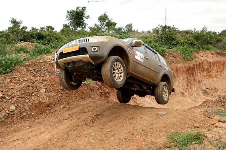 Mitsubishi Pajero Sport off-roading event