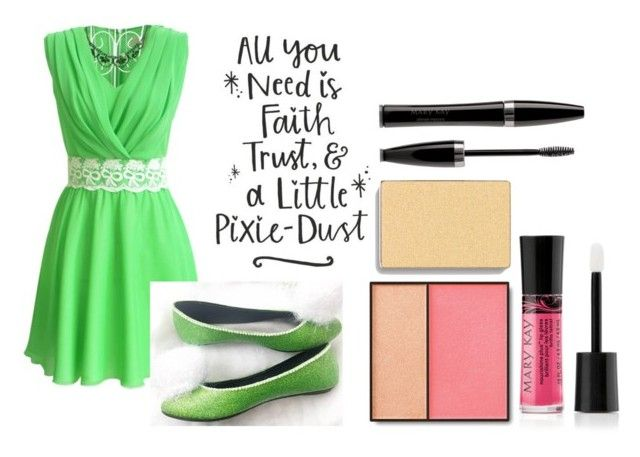 Tinkerbell by beka-williamson on Polyvore featuring beauty and Mary Kay
