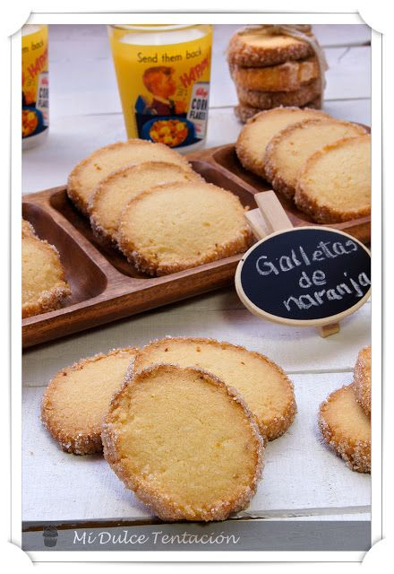 Mi dulce tentación: Galletas de Naranja
