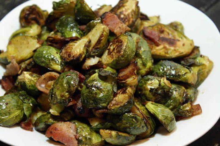 Poelée de choux de Bruxelles et lardons au thermomix. Je vous proposes une délicieuse recette de Poelée de choux de Bruxelles et lardons.