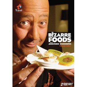 Bizarre Foods with Andrew Zimmern - These were so much fun to add to ALL the countries we were studying!! Check for them on Netflix and Amazon Instant - MFW ECC - all countries