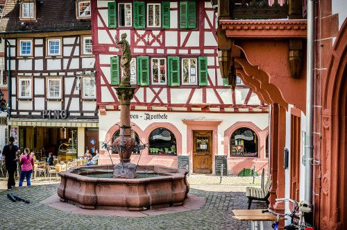 """willkommen-in-germany:  """"Weinheim in Baden-Wüttemberg, Southwestern Germany is about 15 km from Heidelberg and 10 km from Mannheim. Together with these cities, it makes up the Rhein-Neckar triangle. It's situated on the Bergstraße scenic route on the..."""