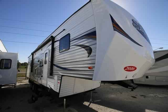 2016 New Forest River Salem 33BHOK Fifth Wheel in Missouri MO.Recreational Vehicle, rv, 2016 Forest River Salem33BHOK, 15.0 A/C Ductued , 30# LP Bottles, Colored LED Awning Light, Decorativee Curtain Rods, DVD, MP3, CD, FM Stereo, Foot Flush Toilet, Jiffy Sofa w/ Lower Bunk, LED Awning Light Strip, Night shades, One Touch Power Awning, Power Stabilizer Jacks, Push Buttom Remote, Radial Tire, Skylight Over Tub, Solid Surface Counter Tops, Spare Tire and Carrier, Stainless Steel Appliances…