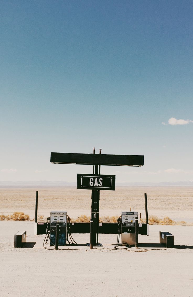 Roadtrip finds. | @artifactuprsng on @vsco Grid | vintage minimalist with landscape photography background of a vintage old retro abandoned gas station