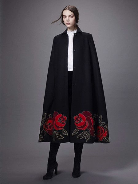 Dash Label Of The Day Vilshenko Cape Fashion Style In
