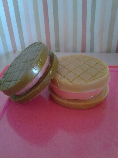 Soap cookies