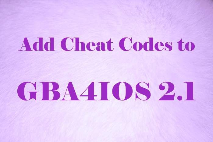 Learn how to add cheat codes to gba4ios 2.0, 2.1 emulator on iphone, ipad or ipod running ios 7, 8, 9, 10. Insert cheat codes to gameboy emulator. pokemon..