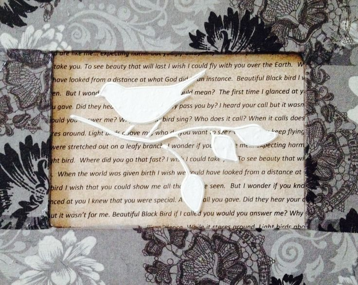 Mixed Media Frame by Shirl