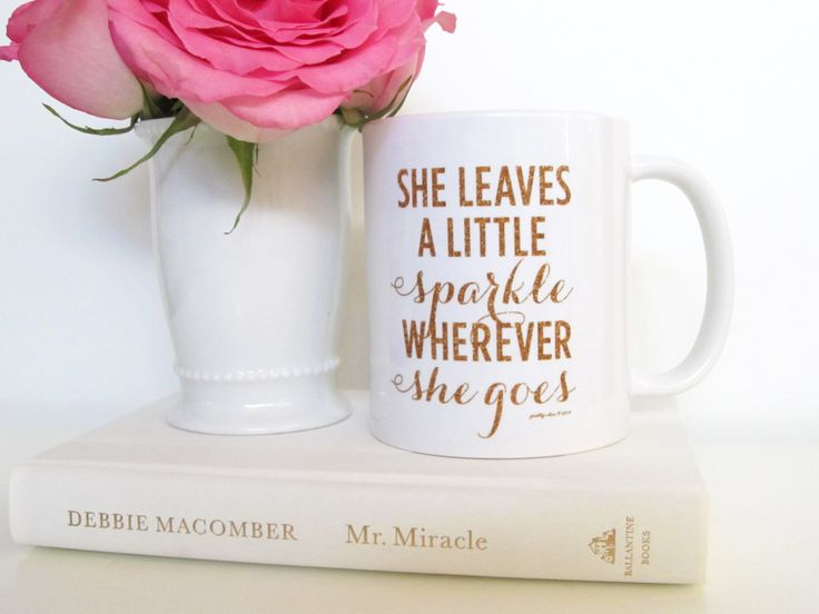 She Leaves A Little Sparkle Mug at Pretty Chic