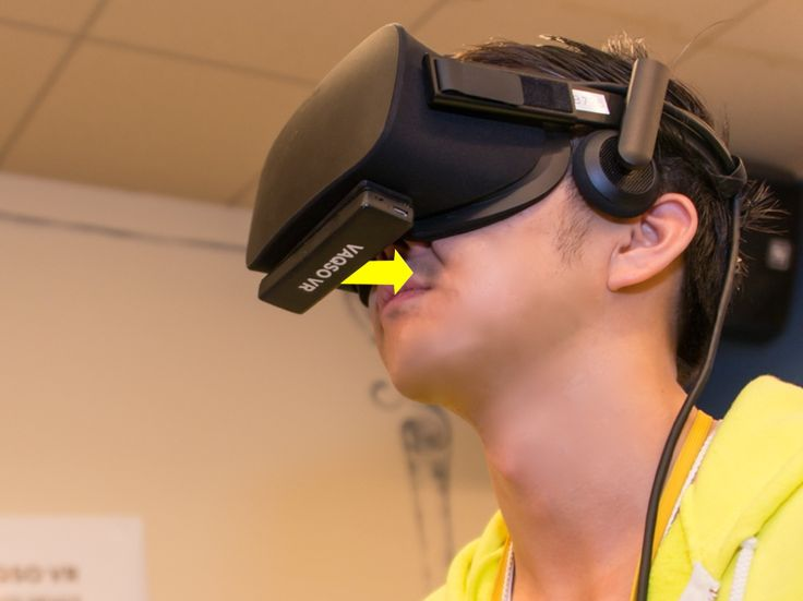 Vaqso headset add smells to VR expreriences.