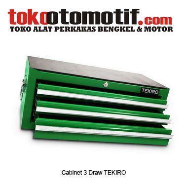 Cabinet 3 Draw TEKIRO - Rak Perkakas 3 Laci  Kode : 011270 Nama : Cabinet 3 Draw TEKIRO Merk : TEKIRO Tipe : 76.5x40x36.5cm (TBl4003x) Berat Kirim : 5 Kg  #raksusun #rakperkakas #toolscabinet #laciperkakas #wadahperkakastangan #penyimpanperalatanbengkel