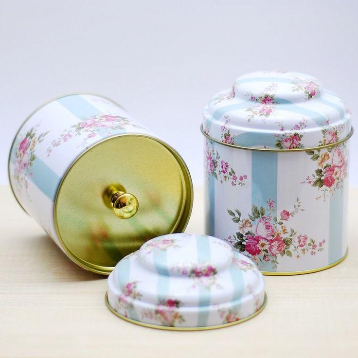 Metal çay kutusu - 6