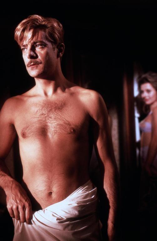 Giancarlo Giannini and Hanna Schygulla in Lili Marleen directed by Rainer Werner Fassbinder 1980