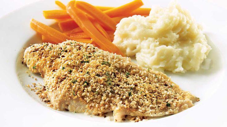Préparez un repas nutritif en moins de deux avec cette recette express de sole à la dijonnaise.