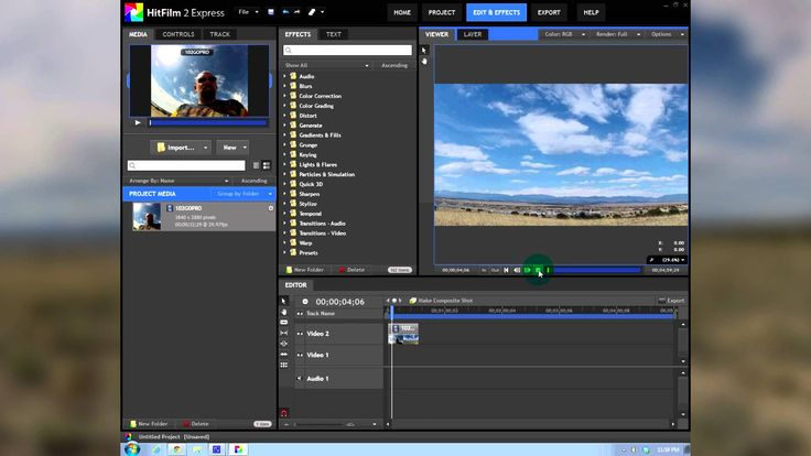how to download hitfilm 4 express for free